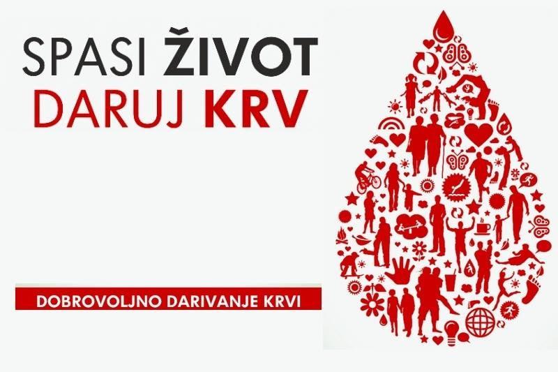 Spasi život daruj krv!
